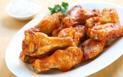 Ailes de poulet épicées
