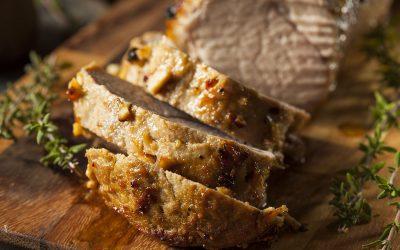 Pork marinated in camelina oil (Ricardo recipe)