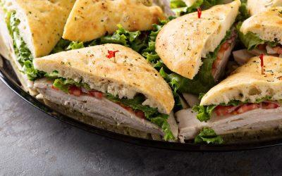 Sandwich à la dinde du lendemain de Noël
