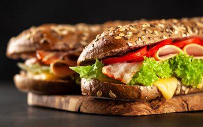 Sandwich BLT de luxe